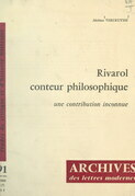 Rivarol, conteur philosophique