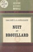 """Nuit et brouillard (""""Nacht und Nebel"""")"""