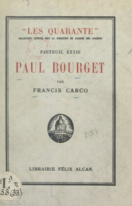 Paul Bourget