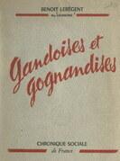 Gandoises et gognandises de Benoît Lerégent