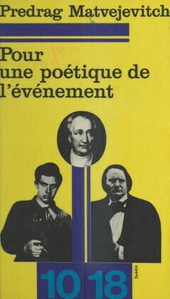 Pour une poétique de l'événement : La poésie de circonstance