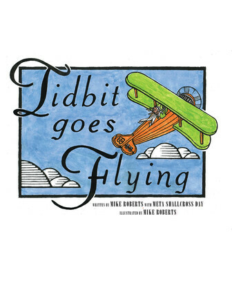 Tidbit Goes Flying
