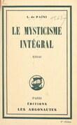 Le mysticisme intégral