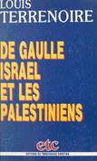 De Gaulle, Israël et les Palestiniens