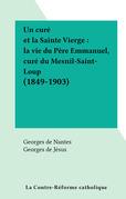 Un curé et la Sainte Vierge : la vie du Père Emmanuel, curé du Mesnil-Saint-Loup (1849-1903)