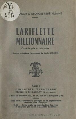 Lariflette millionnaire