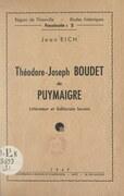 Théodore-Joseph Boudet de Puymaigre