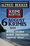 Krimi Koffer 6 August Krimis 2021