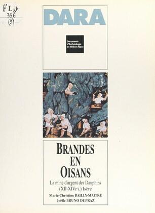 Brandes-en-Oisans, la mine d'argent des Dauphins, XIIe-XIVe s. (Isère)