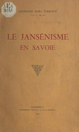 Le jansénisme en Savoie