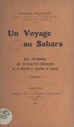 Un voyage au Sahara