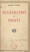 Dégradation du profit