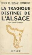 La tragique destinée de l'Alsace