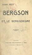 Bergson et le bergsonisme