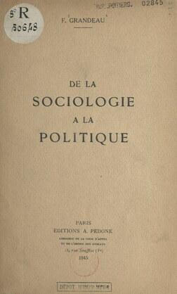 De la sociologie à la politique