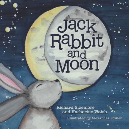 Jack Rabbit and Moon