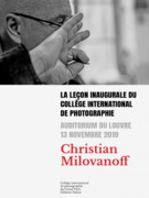 Leçon inaugurale du Collège international de photographie