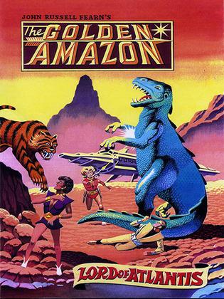 Lord of Atlantis: The Golden Amazon Saga, Book Two