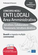Concorsi amministrativi enti locali: test commentati