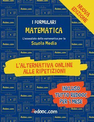 I Formulari - Matematica - Scuola Media