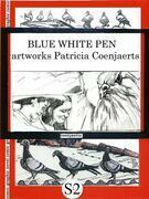 Blue White Pen