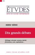 Revue Etudes - Dix grands débats