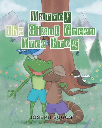Harvey the Giant Green Tree Frog