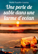 Une perle de sable dans une larme d'océan
