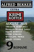 Extra Krimi Koffer August 2021 - 9 Romane