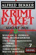 Krimi Paket August 2021: 7 Krimis