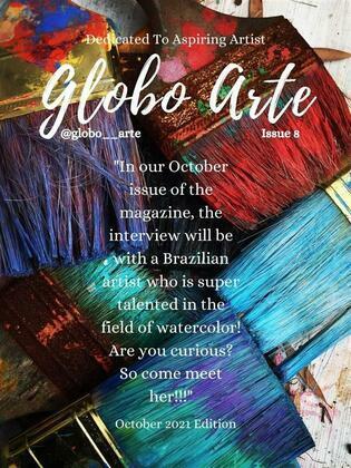 globo arte october issue 2021