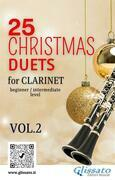25 Christmas Duets for Clarinet - VOL.2
