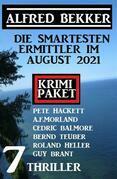 Die smartesten Ermittler im August 2021: Krimi Paket 7 Thriller