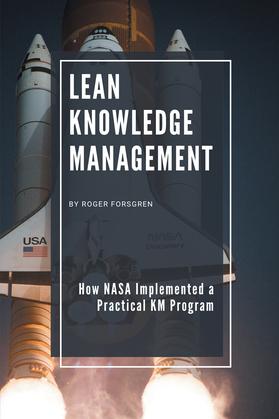Lean Knowledge Management