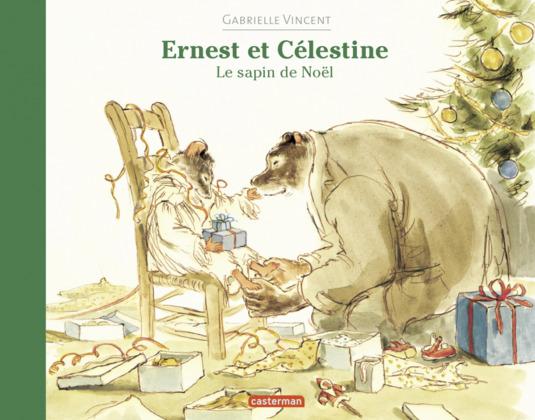 Les albums souples d'Ernest et Célestine - Le sapin de Noël