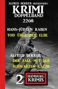 Krimi Doppelband 2208 - 2 Hamburg Krimis