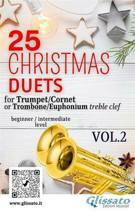 25 Christmas Duets for Trumpet or Trombone T.C. vol.2