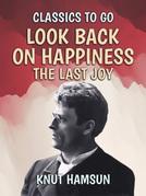 Look Back On Happiness, The Last Joy
