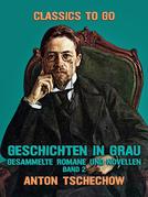 Geschichten in Grau  Gesammelte Romane und Novellen Band 2