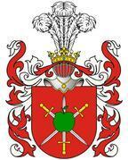 The noble Polish family Hurko. Die adlige polnische Familie Hurko.