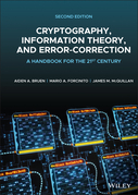 Cryptography, Information Theory, and Error-Correction