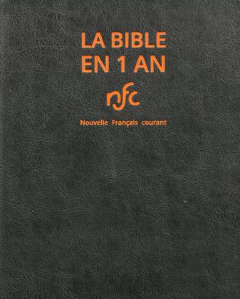 La Bible en 1 an - NFC standard avec DC