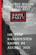 Krimi Paket Die fünf rasantesten Krimis im August 2021