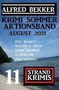 Krimi Sommer Aktionsband August 2021: 11 Strand Krimis