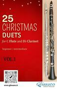 25 Christmas Duets for Flute and Clarinet - VOL.1