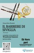 """French Horn in Eb part of """"Il Barbiere di Siviglia"""" for Woodwind Quintet"""