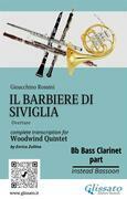"Bb Bass Clarinet part of ""Il Barbiere di Siviglia"" for Woodwind Quintet"