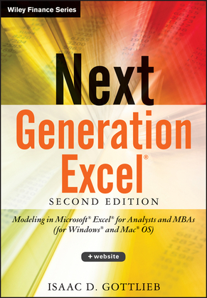 Next Generation Excel +Website: Modeling In Excel For Analysts And MBAs (For MS Windows And Mac OS)