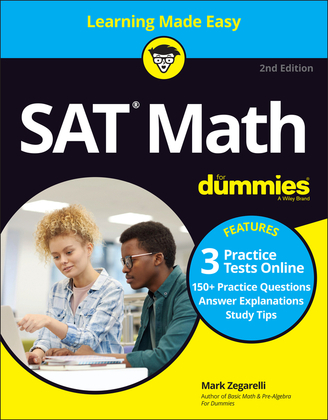 SAT Math For Dummies with Online Practice
