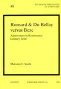 Ronsard & Du Bellay versus Beze : Allusiveness in Renaissance Literary Texts